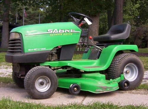 Product picture Sabre Lawn Tractor 38 Inch and 46 Inch REPAIR